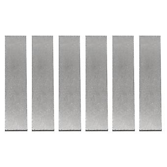 6 x Magnetiserad Alnico 5 Gitarr Humbucker Pickup Magnet Bars 700-800MT