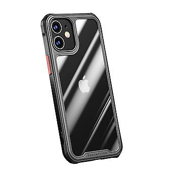 IPAKY iPhone 12/12 Pro TPU Hybrid Shell - Black