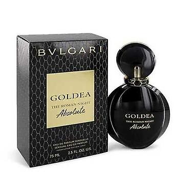 Bvlgari Goldea الليلة الرومانية المطلقة من قبل Bvlgari Eau De Parfum Spray 1.7 Oz (النساء) V728-552769