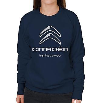 Citro?n 2016 Hvidt logo inspireret af dig kvinders sweatshirt