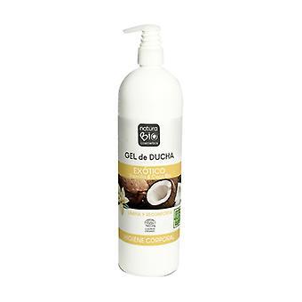 Organic Vanilla and Coconut Exotic Shower Gel 740 ml of gel