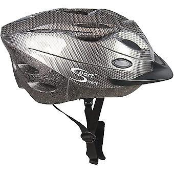 Sport Direct Bicycle Bike Cycle 18 Vent Graphite Helmet CE EN1078 TUV Approvals
