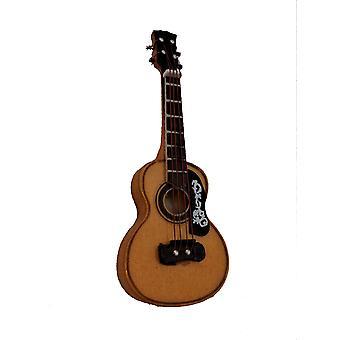 Dolls House Spanish Guitar Miniature Music Room Instrument 1:12