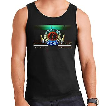 The Big Lebowski Time To Bowl Neon Sign Men's Vest