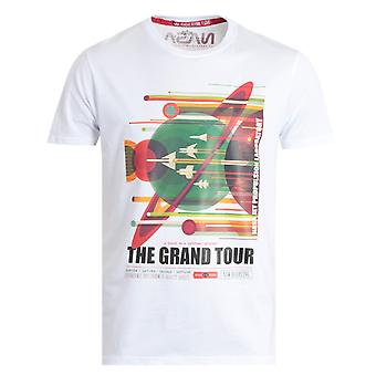 Alpha Industries NASA Grand Tour T-Shirt - White