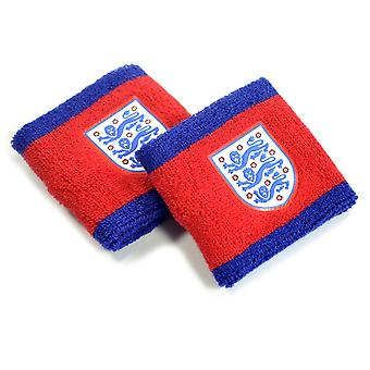 England Wristbands Red Navy