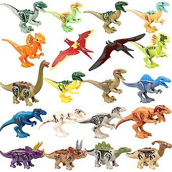 Jurassic Dinosaur World Park Tyrannosaurus Rex Toimintahahmo Rakennuspalsta