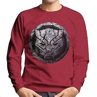 Marvel Black Panther Aged Icon Men's Sweatshirt