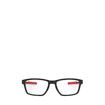 أوكلي OX8153 الساتان نظارات الذكور السود