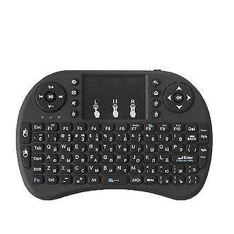 I8 Russo Inglese Versione 2.4ghz Tastiera Wireless Mouse Air Con Touchpad