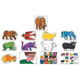 Orso bruno, orso bruno, cosa vedi? Set bacheca, 13 pezzi