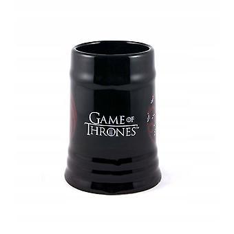 Game of Thrones House Targaryen Stein Mug