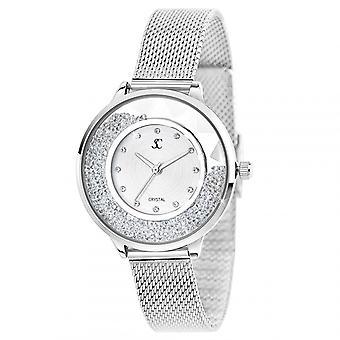 Reloj de mujer tan encantador MF459-AFA - pulsera de aluminio de plata
