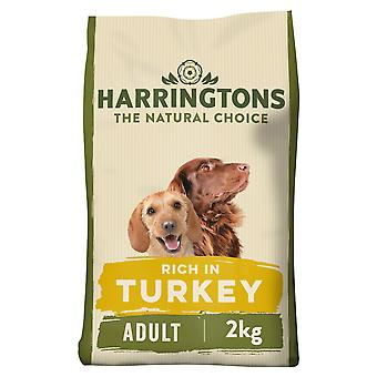 Harringtons Türkei & Veg Alleinfutter Adult Hundefutter 2KG