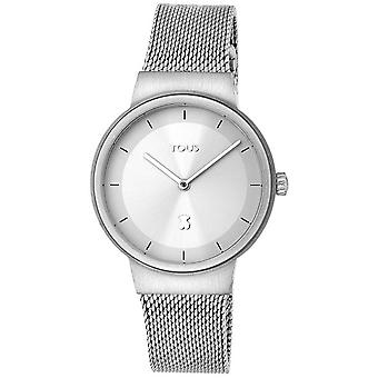 Tous watches rond watch for Women Analog Quartz with stainless steel bracelet 000351505