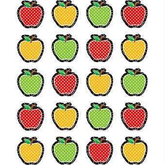 Pegatinas de manzanas punteada