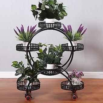 Pflanzenständer, Universal Rad Blumenhalter, für Indoor Garden Balkon