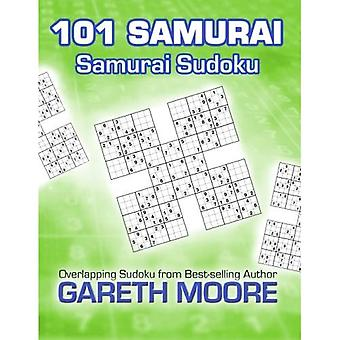 Samuraj Sudoku: 101 samurajer