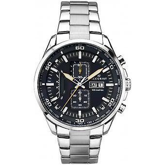 Accurist 7005 London Modré & Stříbrné nerezové pánské hodinky