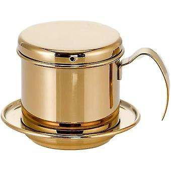 Vietnamese Coffee Filter Press Dripper Stainless Steel Portable Coffee Maker