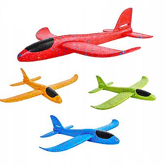4 Pieces 35 Cm Hand Throw Foam Airplane Airplane Model Glider 2 Modes, Random Color