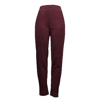Cuddl Duds Leggings Fleecewear Stretch Purple Jogger A369295