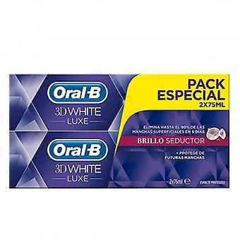 Oral B Pasta de dentes 3D White Luxe Seductive Gloss 2x75 ml