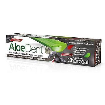 Madal Bal Dentifrico Carbón Activo Aloedent 100 ml