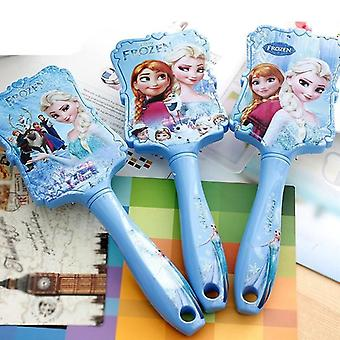 Disney Frozen Prinzessin Anna Elsa Anti-statische Haarpflege Pinsel