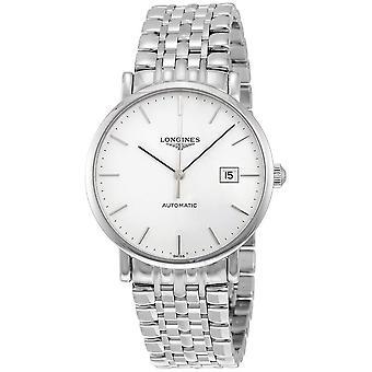 Longines Elegant Automatic White Dial Men's Watch L4.910.4.12.6