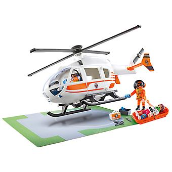 Elicottero playmobil city life rescue
