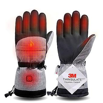 Electric Heating Snowmobile Snowboard Ski Gloves