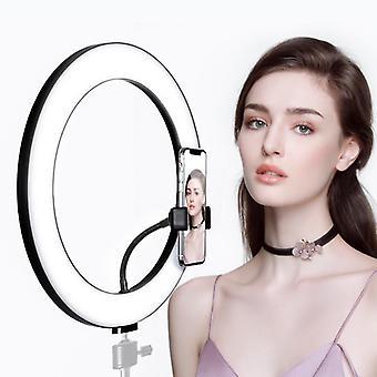 Led light with bracket for live camera light for mobile phone selfie light supplement