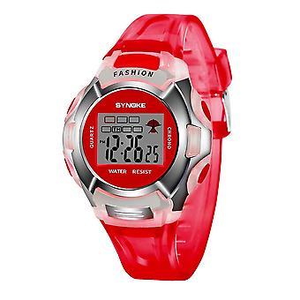 Zegarek dla dzieci,,, Led Digital Sport, Zegar daty alarmu dla dzieci