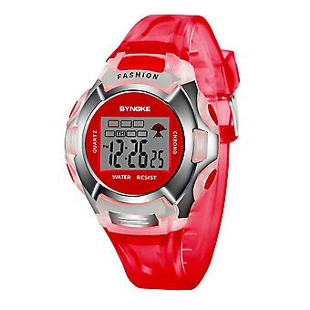 Children Watch,,, Led Digital Sport, Kids Alarm Date Clock