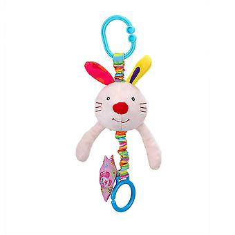 Rabbit Baby Hanging Toys Children Rattle Toys With Bell Soft Plush Rattling Doll For Kids 0-1