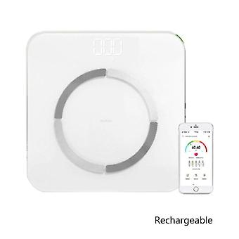 USB Charging Weight Scale Smart(White)