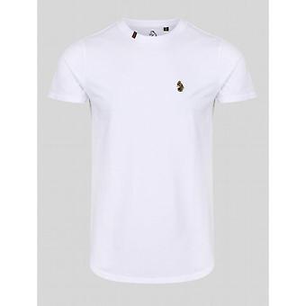 Luke 1977 Super Borduurwerk T-Shirt - Wit