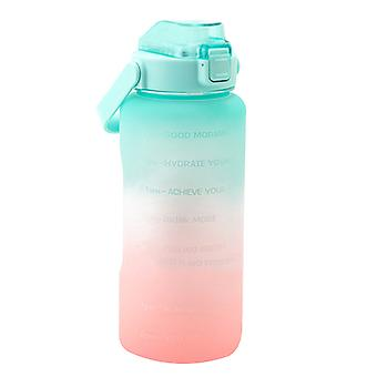 Water Bottle With Straw Big Handle Protective Silicone Boot Sports Water Bottle