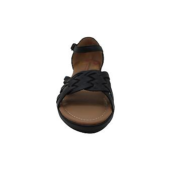 Comfortiva Fortune Black Women's Wedge Shoes