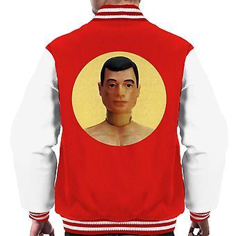 Action Man Character Head Men's Varsity Jacket