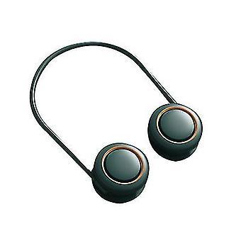Zielony wiszący szyja fanheadphone designbladeless wentylator x464