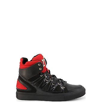 Roccobarocco - Shoes - Sneakers - RBSC0V701-NERO - Ladies - black,red - EU 38
