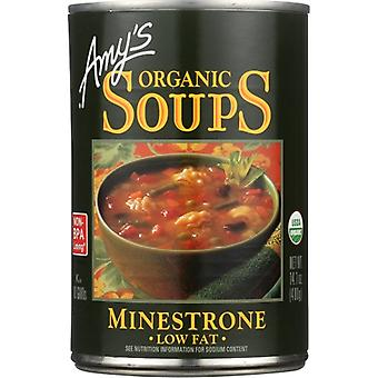 Amys Soup Minestrone Org, Case of 12 X 14.1 Oz