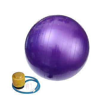 85cm 1000g ammatillinen anti burst vakaus jooga pallo paksuuntaa tasapainottava devcie liikuntatyökalu fitness kuntosaliharjoitteluun pumpun ilmapuristin pysäytin (pu