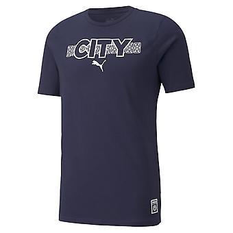 Puma Manchester City Core T Shirt Heren