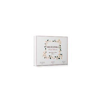 Perfumería Mujer Set Rosas Blancas Aire Sevilla (3 Uds) (3 Pcs)