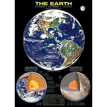 Eurographics Le puzzle de la Terre (1000 pièces)