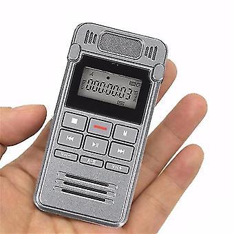 560 timmar Inspelningstid LCD Digital Röst uppladdningsbart Ljud Smart Recorder Dictaphone Med MP3 Player