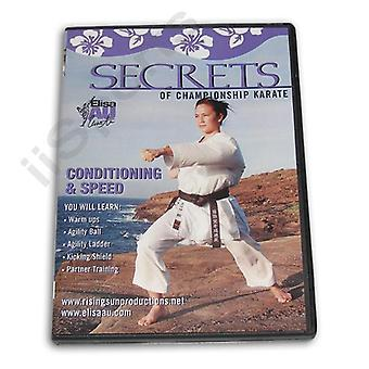 Secrets Championnat Karaté Conditionnement Vitesse Dvd Au -Vd6783A